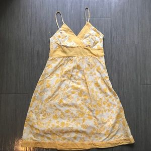 Its me yellow white summer dress